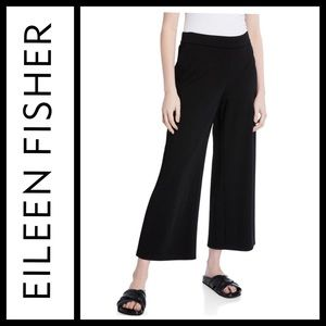 Eileen Fisher Wide Leg Ponte Pants